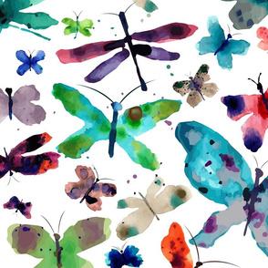Butterflly Garden - Jumbo Size-ed