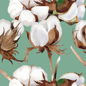 Cotton Flowers(large)