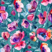 Rjune-evening-watercolor-floral-in-magenta-and-teal-base_shop_thumb