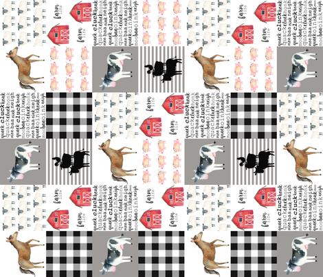 boy farm cheater fabric by attic_15127 on Spoonflower - custom fabric