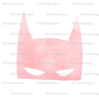 Blush Bat Mask