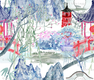 Chinoiserie Tranquility