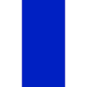 "1/4"" Vertical Cobalt Blue and White Stripe"