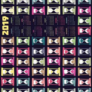 Timers Tea Towel Calendar 2019