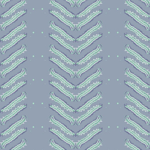 Cater Pillar Chevron