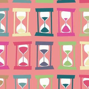 Hourglass Timers (pink, larger)