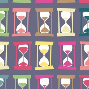 Hourglass Timers (purple, larger)