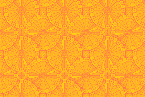 Sun Geometry fabric by carlmfarmer on Spoonflower - custom fabric