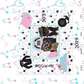 50's Pinkie & Blue Boy Calendar - CYL