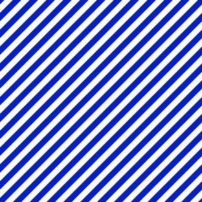 "1/2"" Wide Diagonal Candy Cane Stripes"