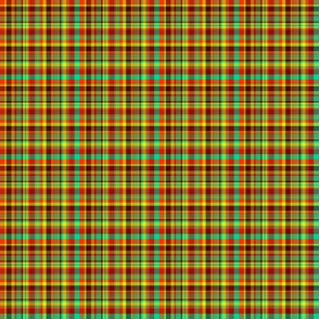 BN12 -  Hot and Cold plaid - small