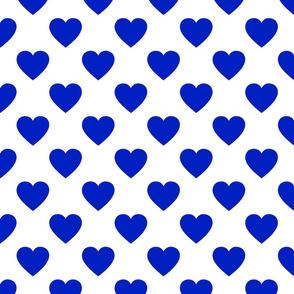 """2"""" Blue Hearts"""