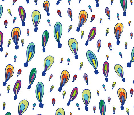 Happy Thoughts fabric by rousehousedesign on Spoonflower - custom fabric