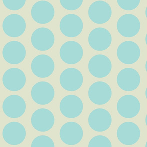 Retro Goldfish - Vintage Teal Dots