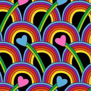 Hearts and Rainbows