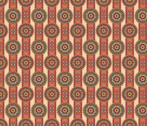 Western Medallions Mandalas fabric by fabric_is_my_name on Spoonflower - custom fabric