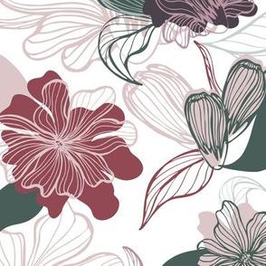 Handdrawn Floral