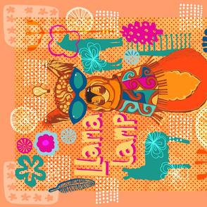 Llama Lamp Groove