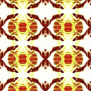 SPC2 - Inner Space in Orange - White - Brown - Rust