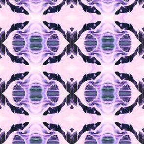 La Llorona in Purple - Lavender - Green, Inner Space