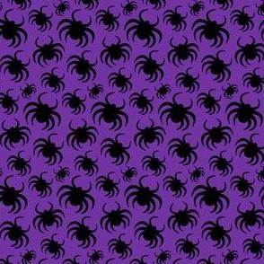 Halloween Spiders Purple Kids Halloween Cute