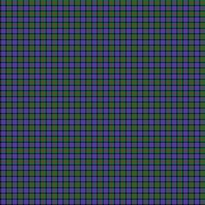 "Cameron tartan, modern colors, 1"""