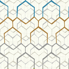 Hexagon overlay