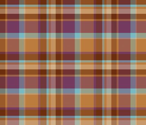 Cool Warm Fall Plaid Basic fabric by juliatatiya on Spoonflower - custom fabric