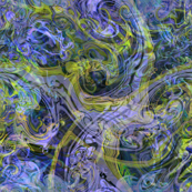 marbling-blue-gold irridescent