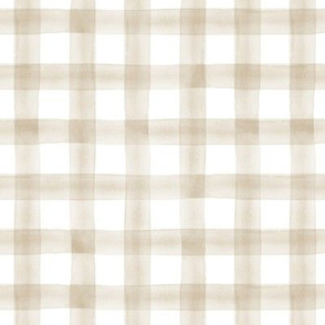 "(3/4"") watercolor plaid 