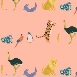 Coral Animal Pattern