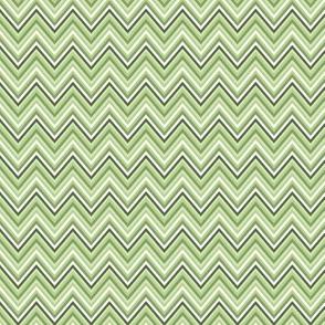 chevron light green small