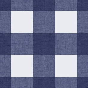 Buffalo Check - Navy