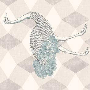 Majestic Ostrich