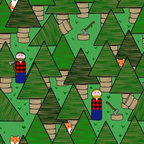 little lumber jacks