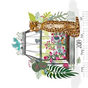 2019_Jungle Lux Tea Towel