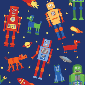 Robots in Space Repeat Brights