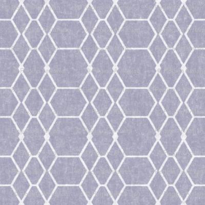 French Gray Batik Geometric