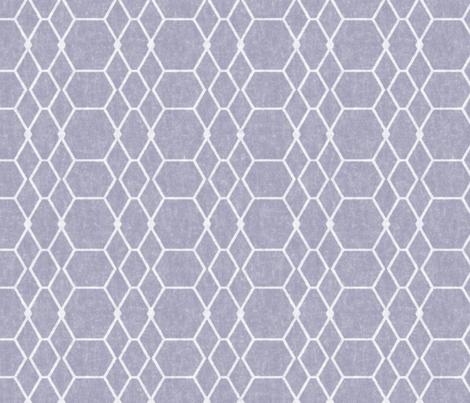 French Gray Batik Geometric fabric by palifino on Spoonflower - custom fabric