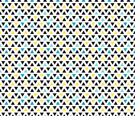 FS Scandinavian Triangles fabric by fern&sterling on Spoonflower - custom fabric
