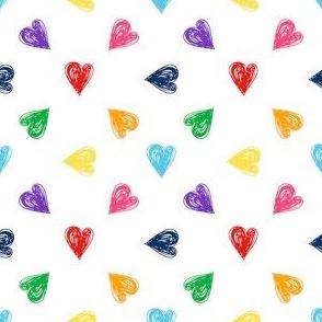 FS Hearts Multicolor