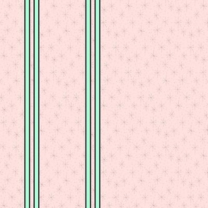 Mini starburst pastel stripes