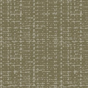 dark olive fifties solid barkcloth texture