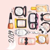 Make-up your mind! - 2019 Calendar