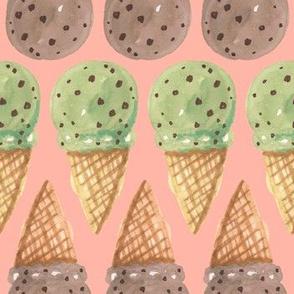 Chocolate Chip Cones