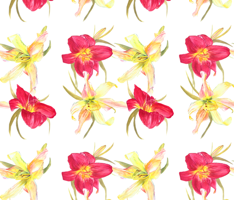 Happy Days  fabric by vickylilla on Spoonflower - custom fabric