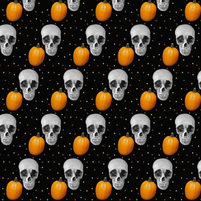 Skulls and Pumpkins