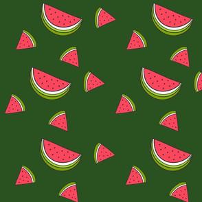 Sweet Slice Watermelon print