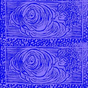 CloudSong Blockprint- CobaltBlue-lilac