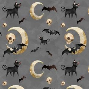 Bats and Cats and Skulls